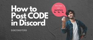 How to Post Code in Discord with Color (2020) – Discord TIPS