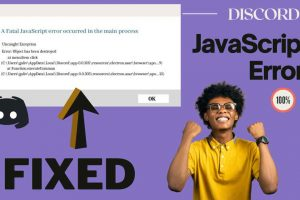 Discord JavaScript Error on Start-up | Fatal Error FIXED