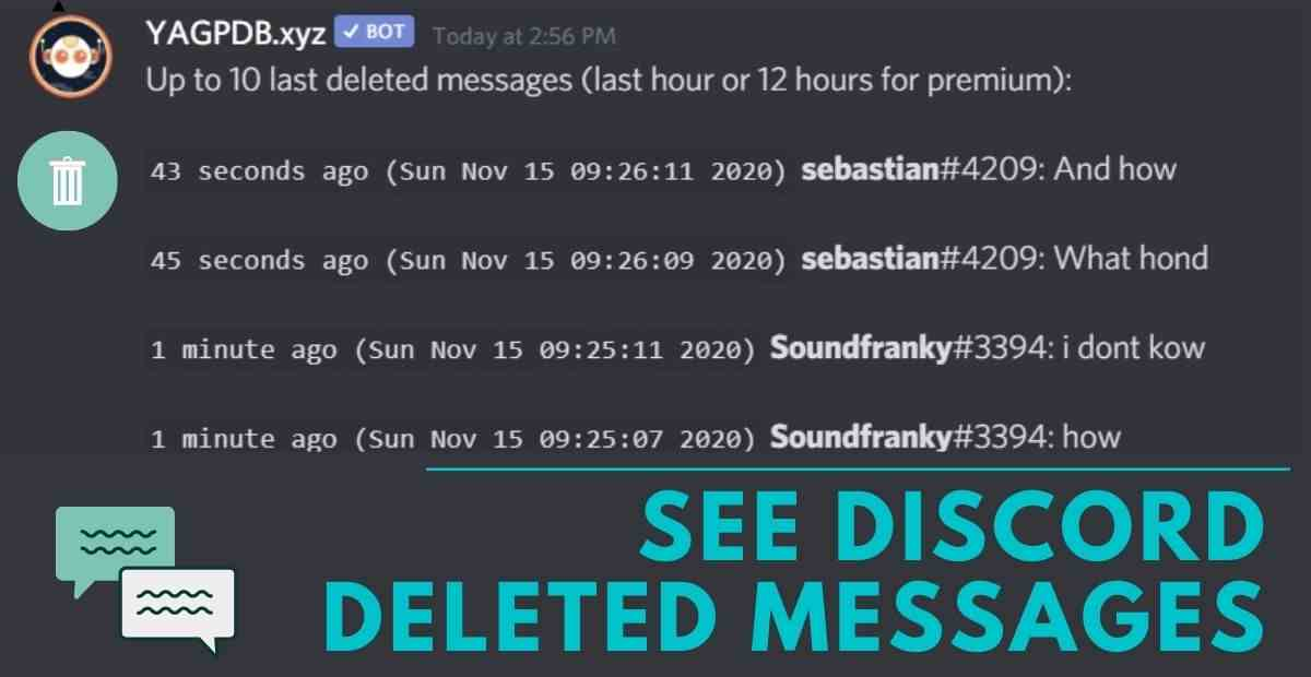 How to See Deleted Messages on Discord (2020) – 2 Methods
