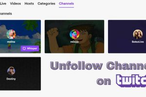 How to Unfollow Someone on Twitch Mobile and Desktop (2020)